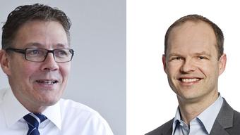Daniel Probst (rechts) übernimmt die Nachfolge von Roland Fürst (links)