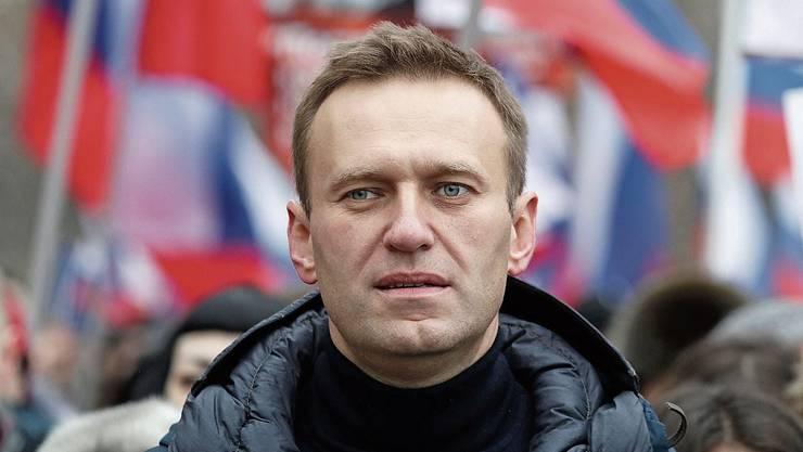Wurde schon mehrfach Opfer gezielter Angriffe: Kremlkritiker Alexej Nawalny.