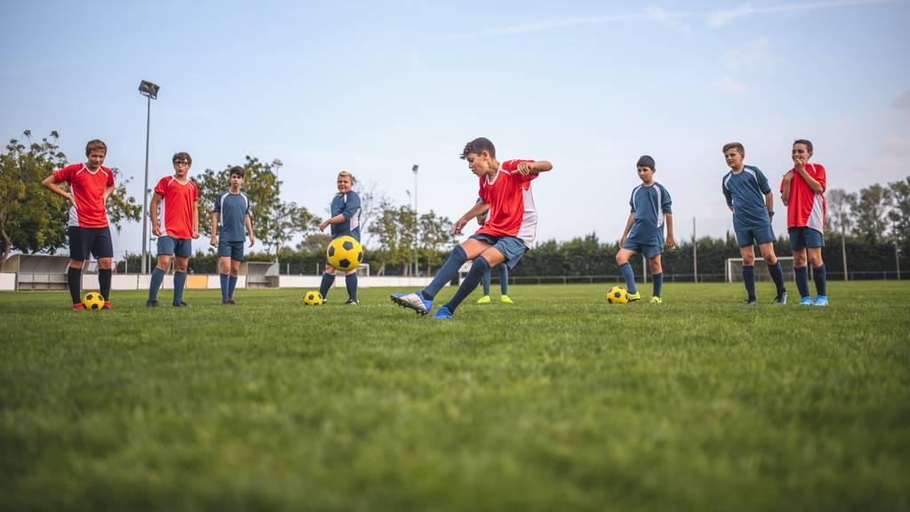 Amateur-Fussballer gehen weiterhin fleissig ins Training