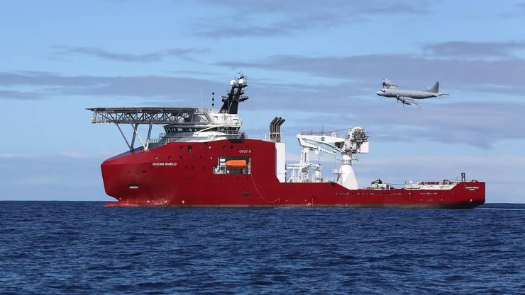 «Bluefin 21» ist auf dem australischen Suchschiff «Ocean Shield» stationiert.