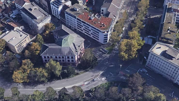 Der Unfall passierte an der Kreuzung Schützenmattstrasse Schützengraben