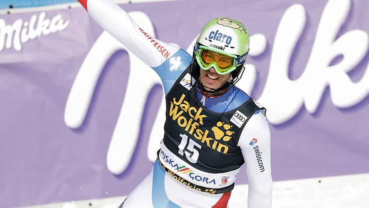 Gewann Olympia-Silber im Slalom: Ramon Zenhäusern hat im letzten Winter einen enormen Leistungssprung gemacht