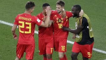 WM 2018: Impressionen vom Spiel England - Belgien