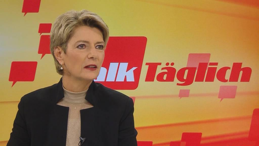 Karin Keller-Sutter: «Die Konzernverantwortungsinitiative ist zu radikal»