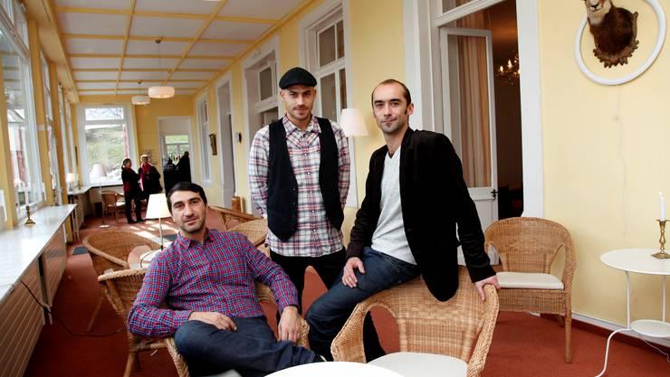 Das Kurhaus-Team (v.l.): Sergio Simili, Peter Studer und Ueli Wüthrich.