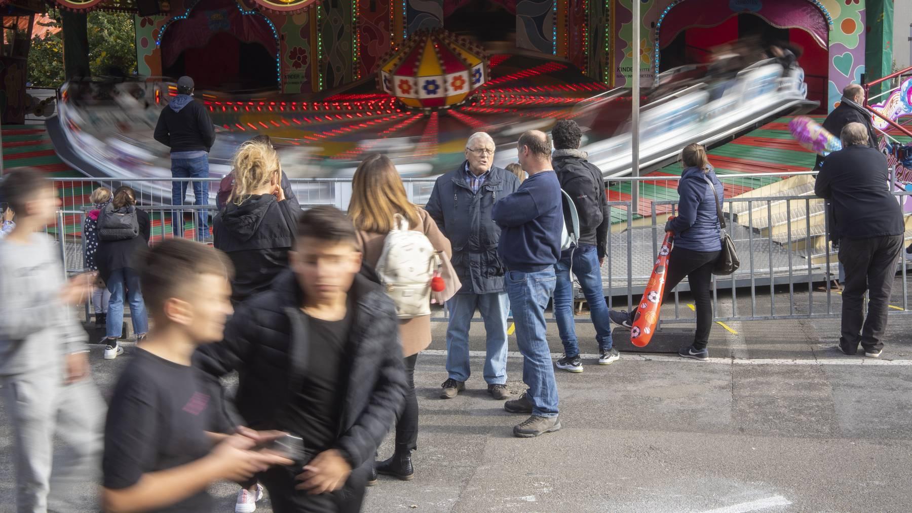 Der Herbstjahrmarkt fand schon 2020 in einem Mini-Format statt.