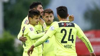 Rapperswil-Jona - FC Aarau; 10.05.2018