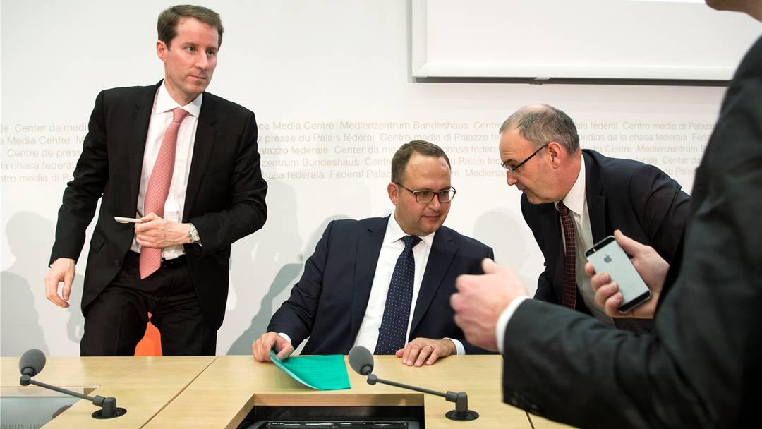 Kritik an SVP-Dreierticket – Gewinnen könne nur einer, monieren Kritiker: Blocher-Zögling Thomas Aeschi.