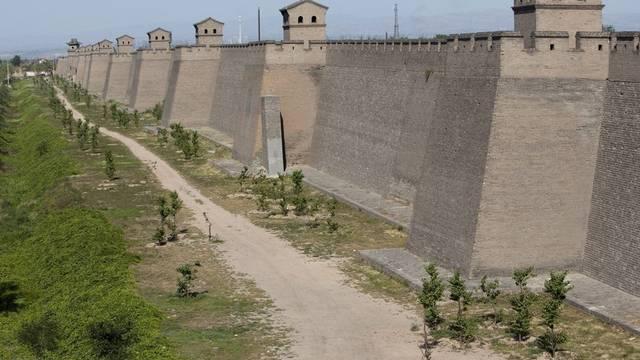 Teil der Chinesischen Mauer (Archiv)