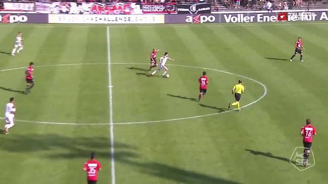 Challenge League, 2017/18, 36. Runde, FC Aarau – FC Vaduz, 4:1 Norman Peyretti
