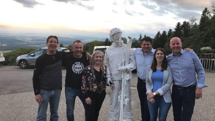 Vorstand (v l  Adi Schürmann, Andy Fehlmann, Claudia Bitterli, Reinhold Dörfliger, Sabine Gerber, Theo Schranz)