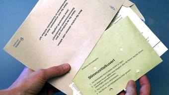 Die briefliche Stimmabgabe ist sehr beliebt