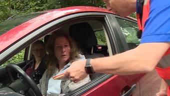 «Diese Aktion ist der Hammer!»: Die Aktion kam gut an bei den Autofahrern.