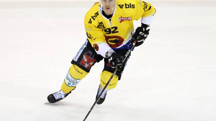 Nationalstürmer Gaëtan Haas könnte den SC Bern bei einem Angebot eines NHL-Klubs nach der laufenden Saison verlassen