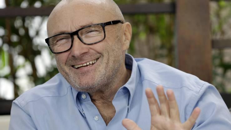 Phil Collins hat viel Liebe gespürt, als er Peter Gabriel wieder getroffen hat. Er könnte sich deshalb eine erneute Zusammenarbeit vorstellen (Archiv)
