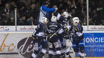 Jubel beim HC La Chaux-de-Fonds - nur ein Sieg fehlt noch zur ersten Finalqualifikation seit zehn Jahren
