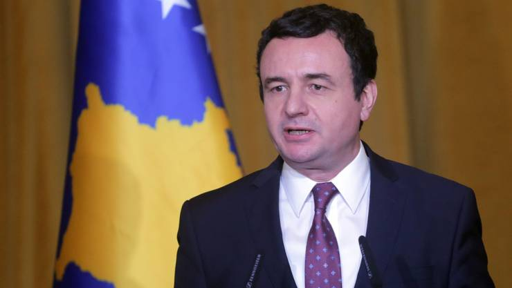 Im Kosovo hat die Koalitionsregierung von Ministerpräsident Albin Kurti nach nur sechs Monaten im Amt ein Misstrauensvotum inmitten der Coronavirus-Krise nicht überstanden. (Archivbild)