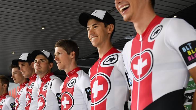 Die Schweizer Nationalmannschaft an der Tour de Suisse