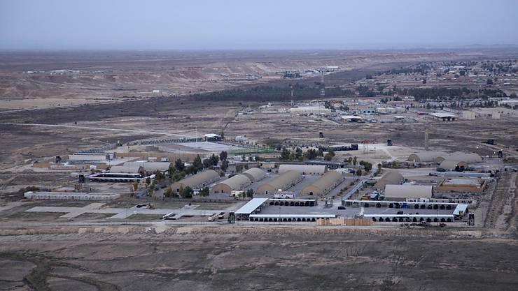 Der Iran hat die auch vom US-Militär genutzte Militärbasis Al Asad im Irak mit Raketen angegriffen. (Archivbild)