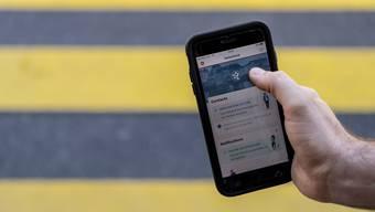 Darf nun auch in Liechtenstein angewendet werden: Die SwissCovid-App.