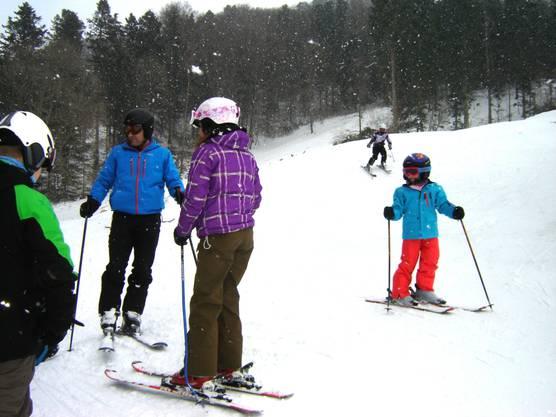 Ein Skitag in der Sebleten