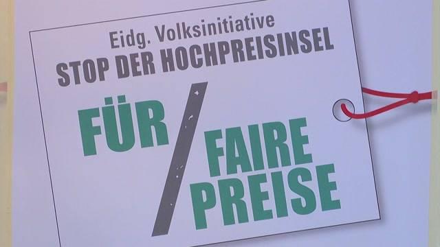 Kampf gegen Hochpreisinsel Schweiz