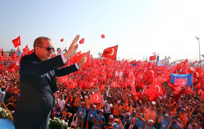 Grosskundgebung von Erdogan in Istanbul (6)