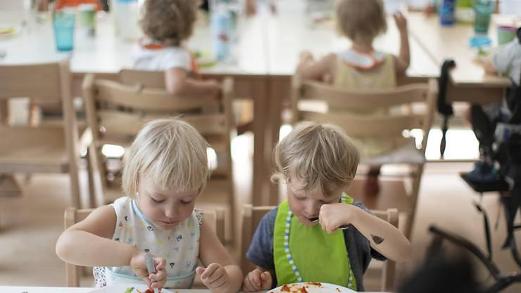 43 Prozent der Kinder im Kanton Zürich werden in einer Kita betreut. (Symbolbild)