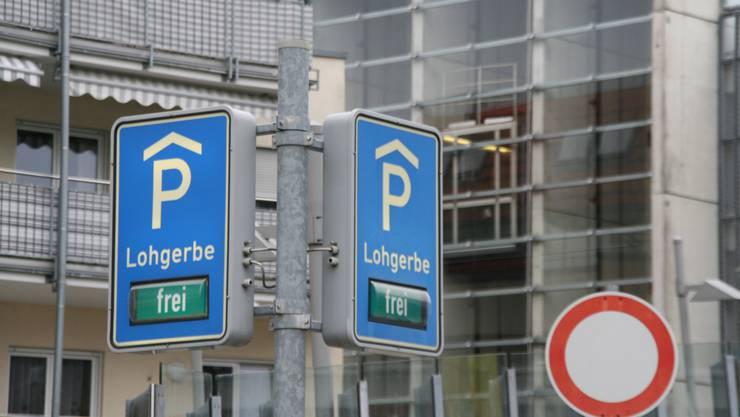 Wegen der Sanierung fallen Parkplätze im Parkhaus Lohgerbe weg.