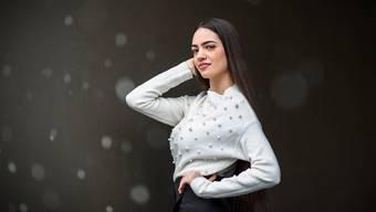 Jastina Doreen Riederer ist eine von elf Miss-Schweiz-Kandidatinnen