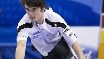 Youngster Benoît Schwarz greif für die Schweiz ein