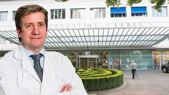 Javier Fandino fällt es schwer, sein Team und seine Patientinnen und Patienten zurücklassen zu müssen.