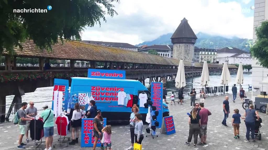Guerilla-Aktion von Zürich Tourismus stösst sauer auf