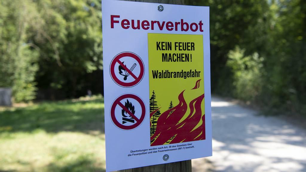 Wegen Trockenheit: Liechtenstein erlässt bedingtes Feuerverbot