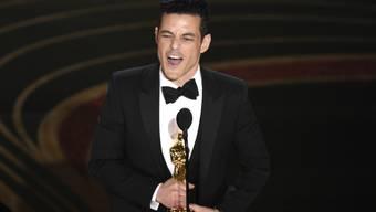 Rami Malek hat am Sonntag in Hollywood den Oscar für den besten Hauptdarsteller gewonnen.