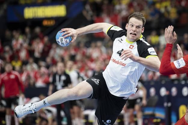 Im Dezember gegen das übermächtig scheinende Kiel erfolgreich: Lenny Rubin mit der HSG Wetzlar in der Bundesliga