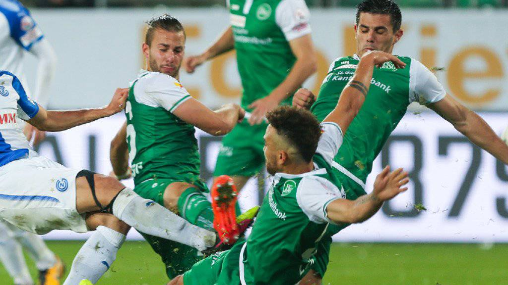 Der FC St. Gallen sorgte in dieser Saison auf und neben dem Platz für Schlagzeilen