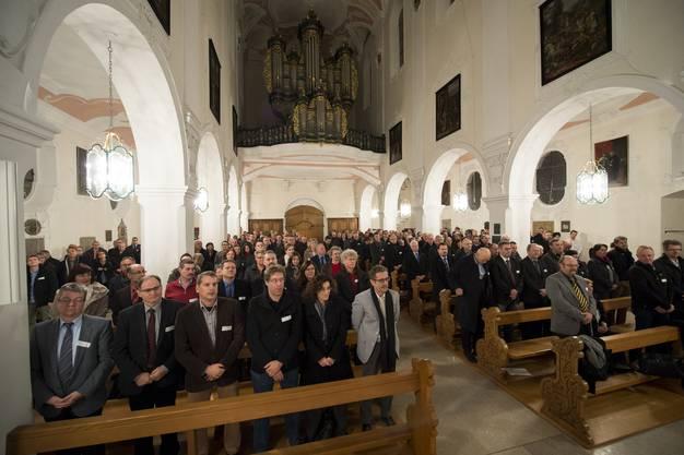 Die Inpflichtnahme findet im Verenamünster in Bad Zurzach statt.