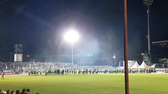 Stromausfall im Brügglifeld: Die Polizei marschiert auf