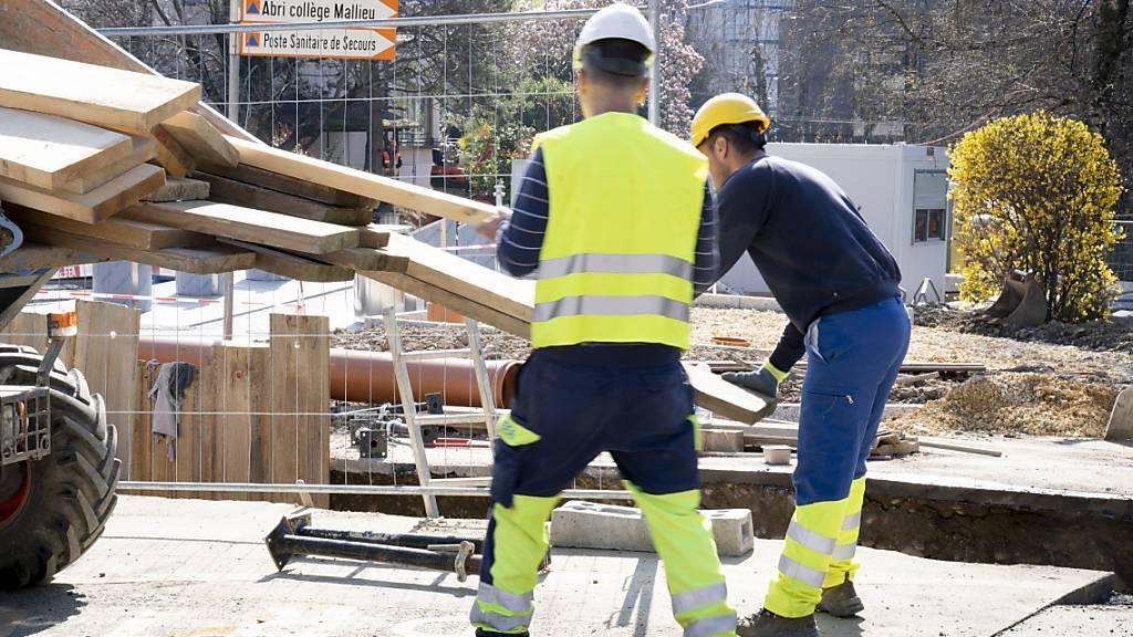 In der Schweiz ist die Arbeitslosigkeit im März zurückgegangen. Die Arbeitslosenquote sank auf 3,4 nach 3,6 Prozent im Monat davor.(Archivbild)