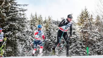 Konkurrenten und Leidensgenossen: Martin Johnsrud Sundbys (l.) Leistungsasthma ist derzeit akuter als das von Dario Cologna.
