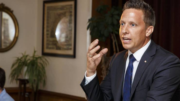 SVP-Kantonalpräsident und Nationalrat Christian Imark steigt in den Ständeratswahlkampf.
