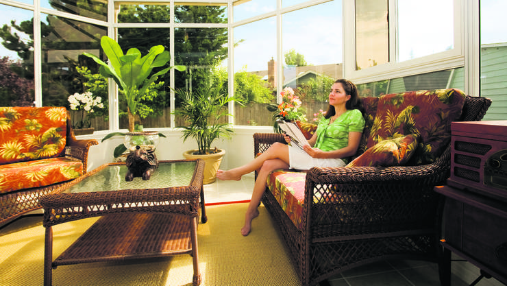 der wintergarten gratisheizung oder energieschleuder bauen und wohnen dossier az. Black Bedroom Furniture Sets. Home Design Ideas