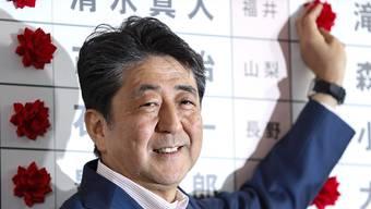 Japans Ministerpräsident Shinzo Abe kann nach der Oberhauswahl vom Sonntag die japanische Verfassung doch nicht so leicht wie erhofft ändern.