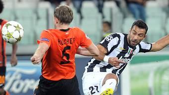 Juventus-Stürmer Fabio Quagliarella ging gegen Donezk leer aus.