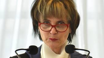 «Die Politik der schlafenden Hunde ist gescheitert!»: Alt Bundesrätin Micheline Calmy-Rey wünscht sich eine starke und einprägsame Version einer offenen Schweiz.