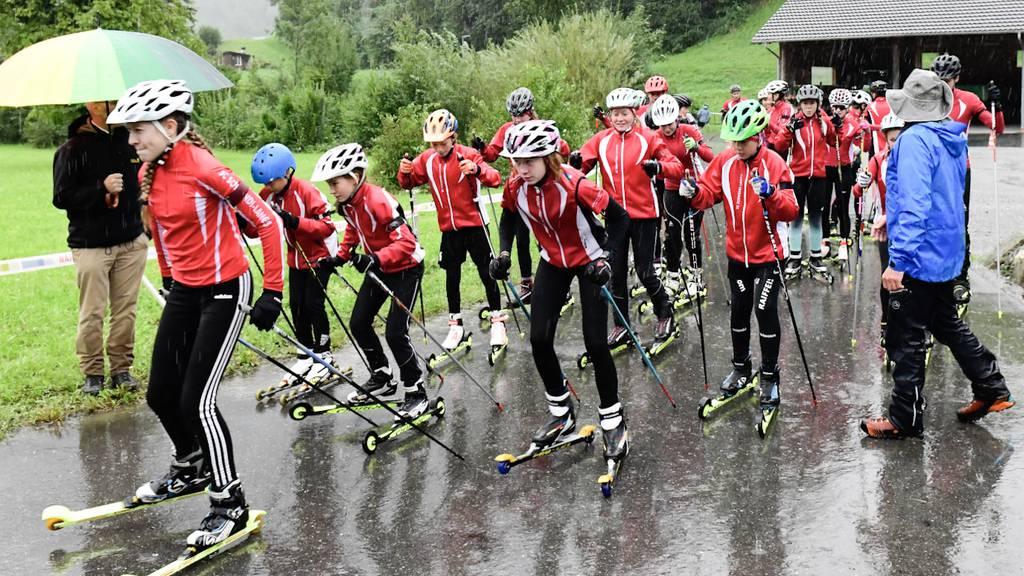 Neue Trainingsstrecke für die Biathleten von morgen
