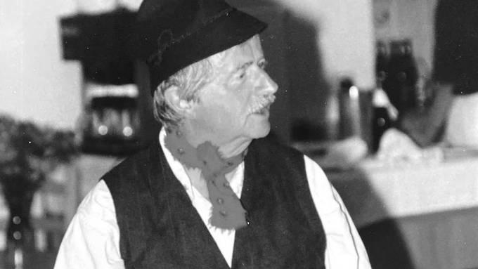 Ernst Moser als «Schacher Seppeli».
