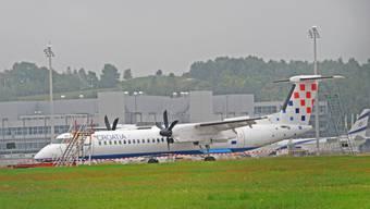 Bruchlandung in Kloten: Air Croatia gerät in Schieflage