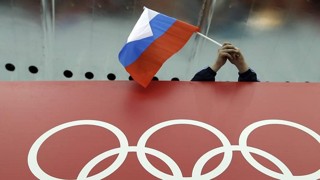 Russland will sich gegen die Olympia-Sperre wehren.